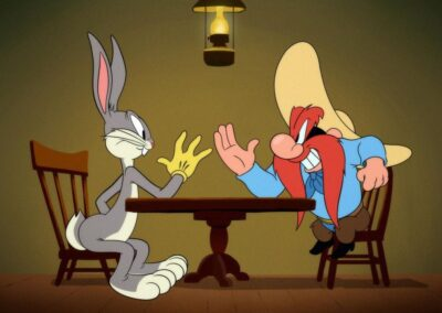 Bugs Bunny Arm Russel