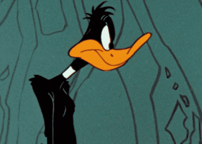 Angry Daffy Duck