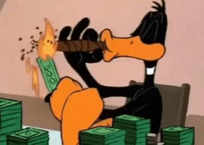 Daffy Duck Rich