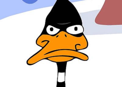 Very Angry Daffy Duck