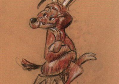 Charlie Dog Original Concept Sketch