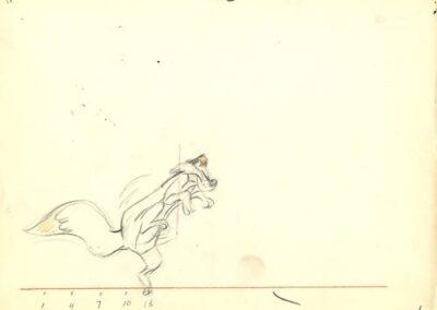 Claude Cat Tip Toe Sketch