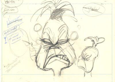 The Grinch Original Sketch
