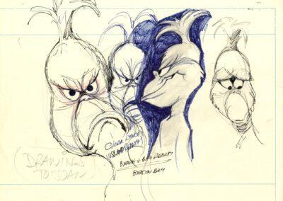 The Grinch Concept Sketch