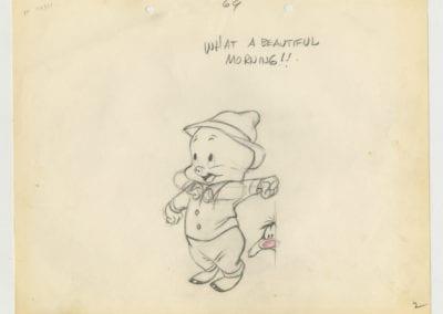 Porky Pig & Slyvester Sketch