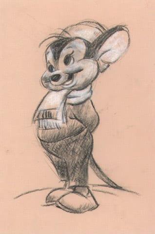 Sniffles Original Sketch