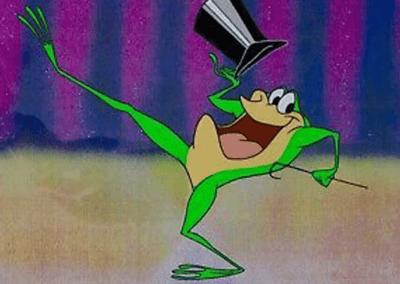 Michigan J Frog Dancing
