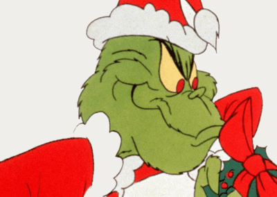 The Grinch Evil Smile