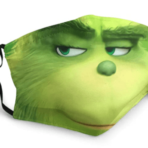 The Grinch Reusable Face Mask
