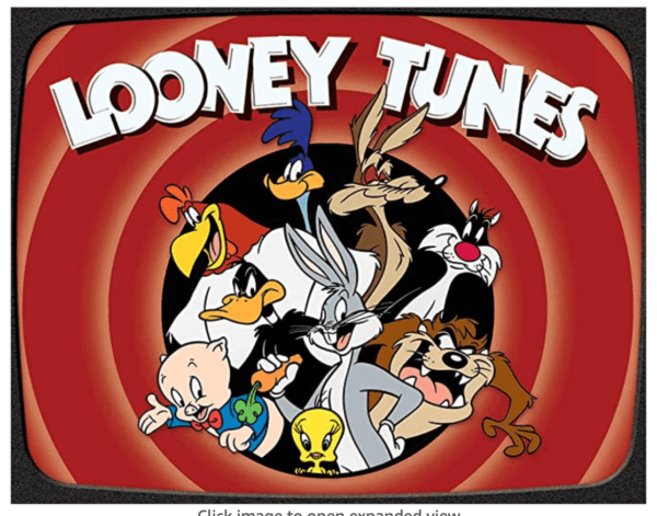 Looney Tunes Tin Sign