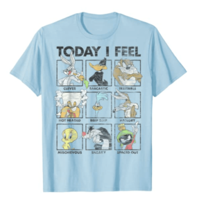 Looney Tunes Today I Feel T-shirt