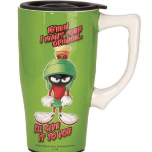 Marvin the Martian Ceramic Travel Mug