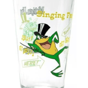 Michigan J. Frog Pint Glass