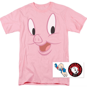 Porky Pig T-shirt and Stickers