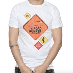 Road Runner Road Sign T-shirt